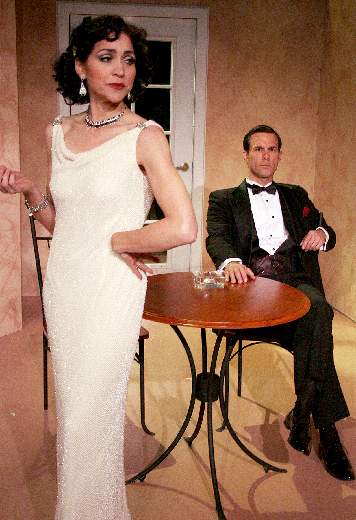 Stasha Surdyke and Jeff Witzke in PRIVATE LIVES. 