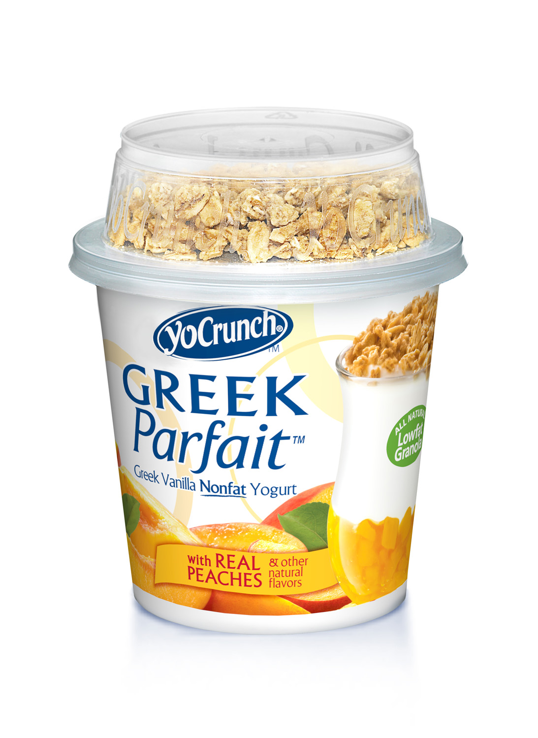 Greek Parfait - Peach