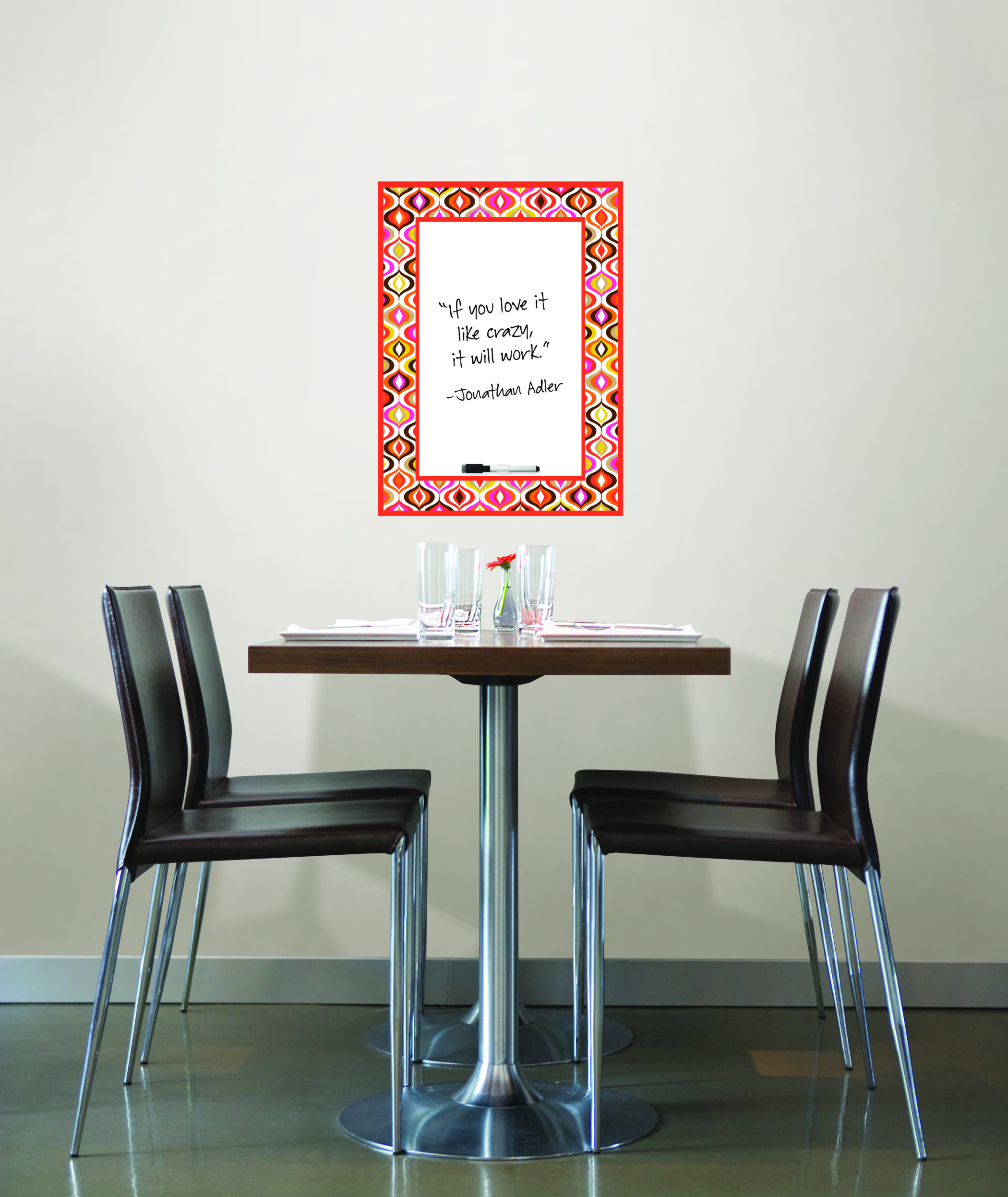WallPops by Jonathan Adler Wave Dry Erase Message Board