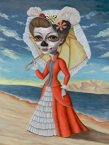 The Portrait of Dona Catrina by Brandon Maldonado