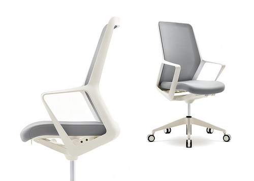 Flexxy Swivel by OFS captured top honors in the contract task seating category in the Interior Design Magazine Best of Year Awards.