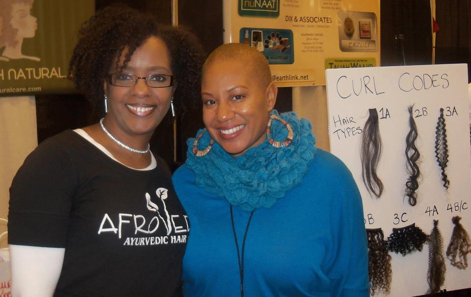 Mala Rhodes, CEO of AFROVEDA and Felicia Leatherwood, The Celebrities Stylist