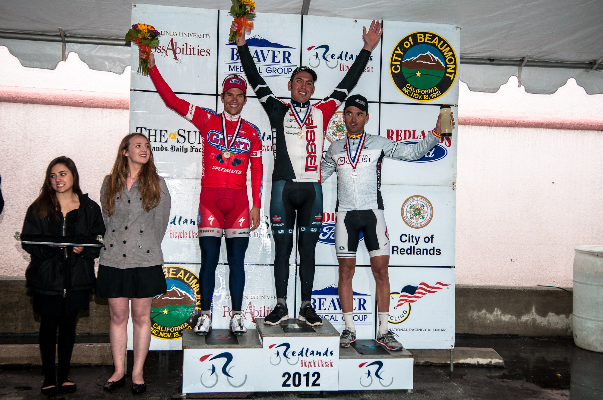 "Competitive Cyclist Racing Team's captain Francisco ""Paco"" Mancebo takes third in the General Classification at the 28th annual Redlands Bicycle Classic. Photo: Tommy Chandler/Competitive Cyclist."