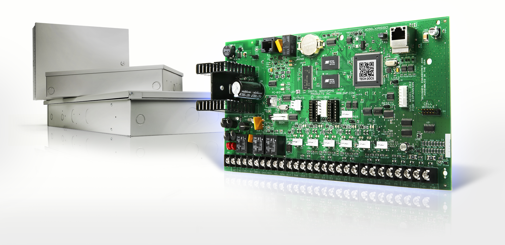 Digital Monitoring Products Dmp Announces Three New