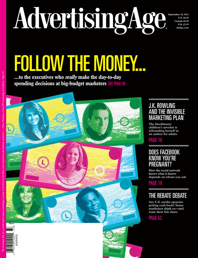September 10th cover of Advertising Age.