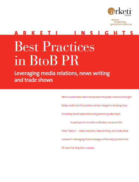 Best Practices in BtoB PR