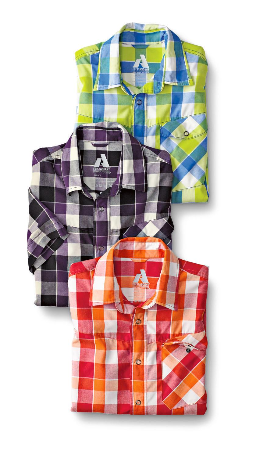 Men's Short-sleeve High Route Shirt