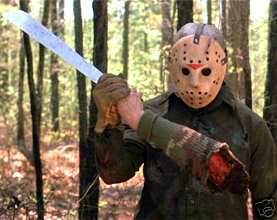 Jason Voorhees, Friday the 13th Customer Service Rep