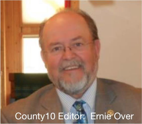 Ernie Over, County 10 Editor