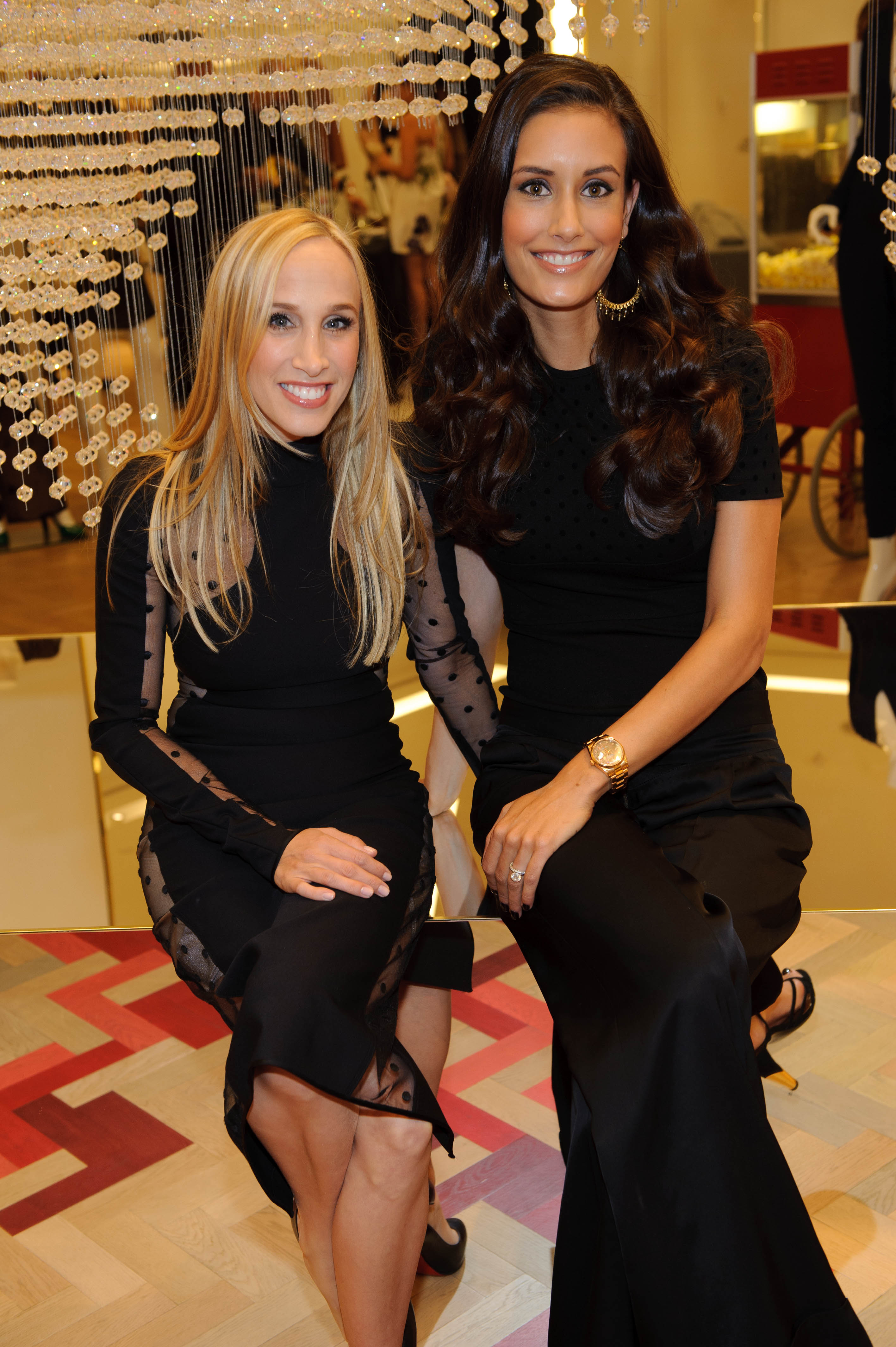 2011 Fashion's Night Out celebration at Crystals -  Ellen Schaner, Lacey Shorr at Stella McCartney