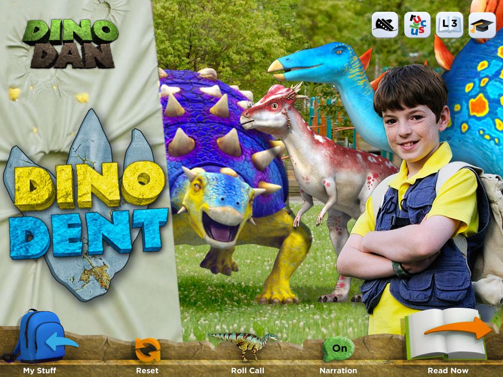 dino dan ireaders from ruckus media group give kids dinosaur info