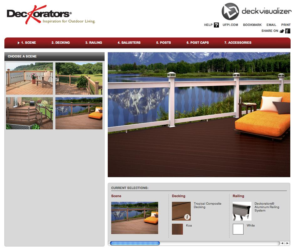 Deckorators Free Online Deck Visualizer Makes Deck