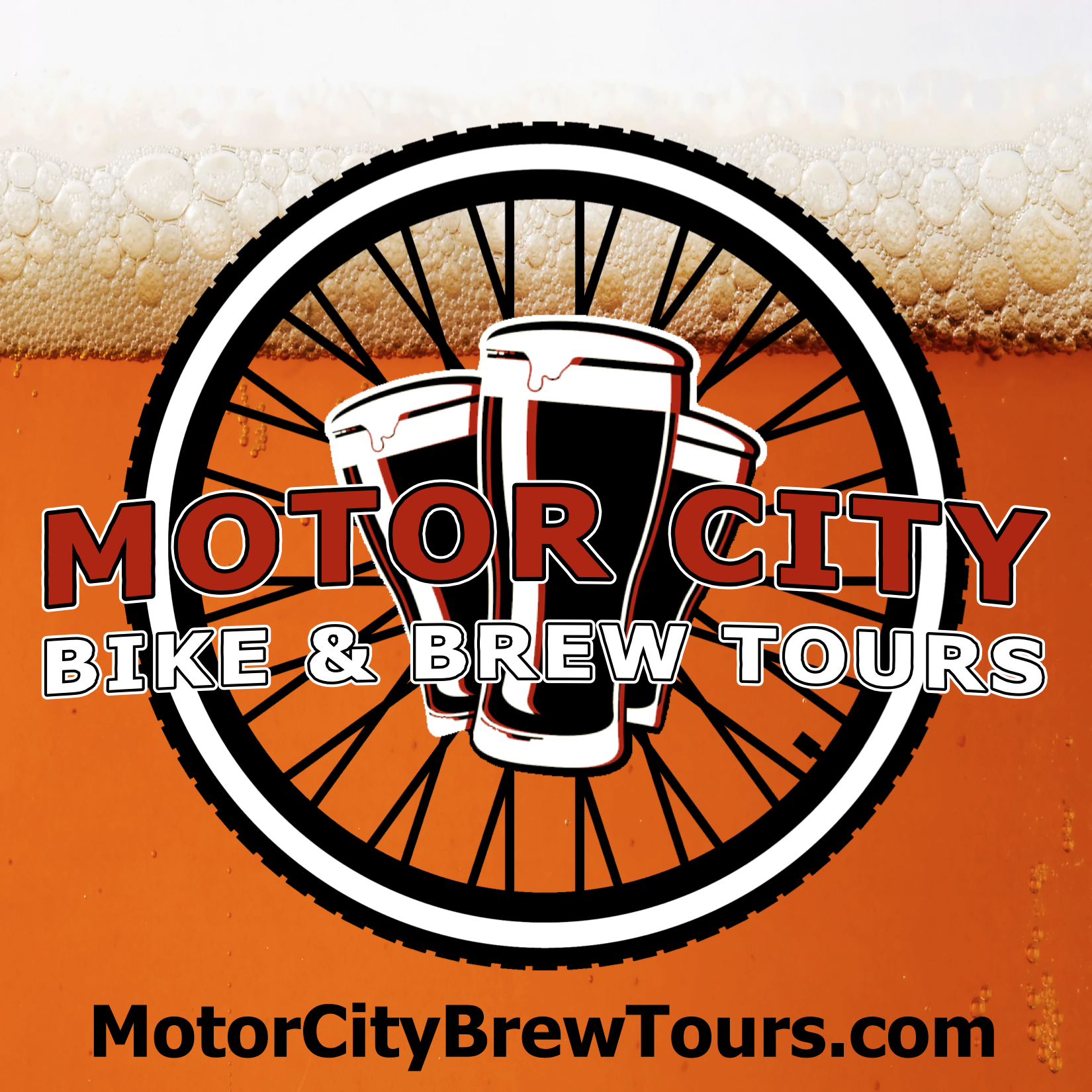Motor City Bike &amp; Brew Tours