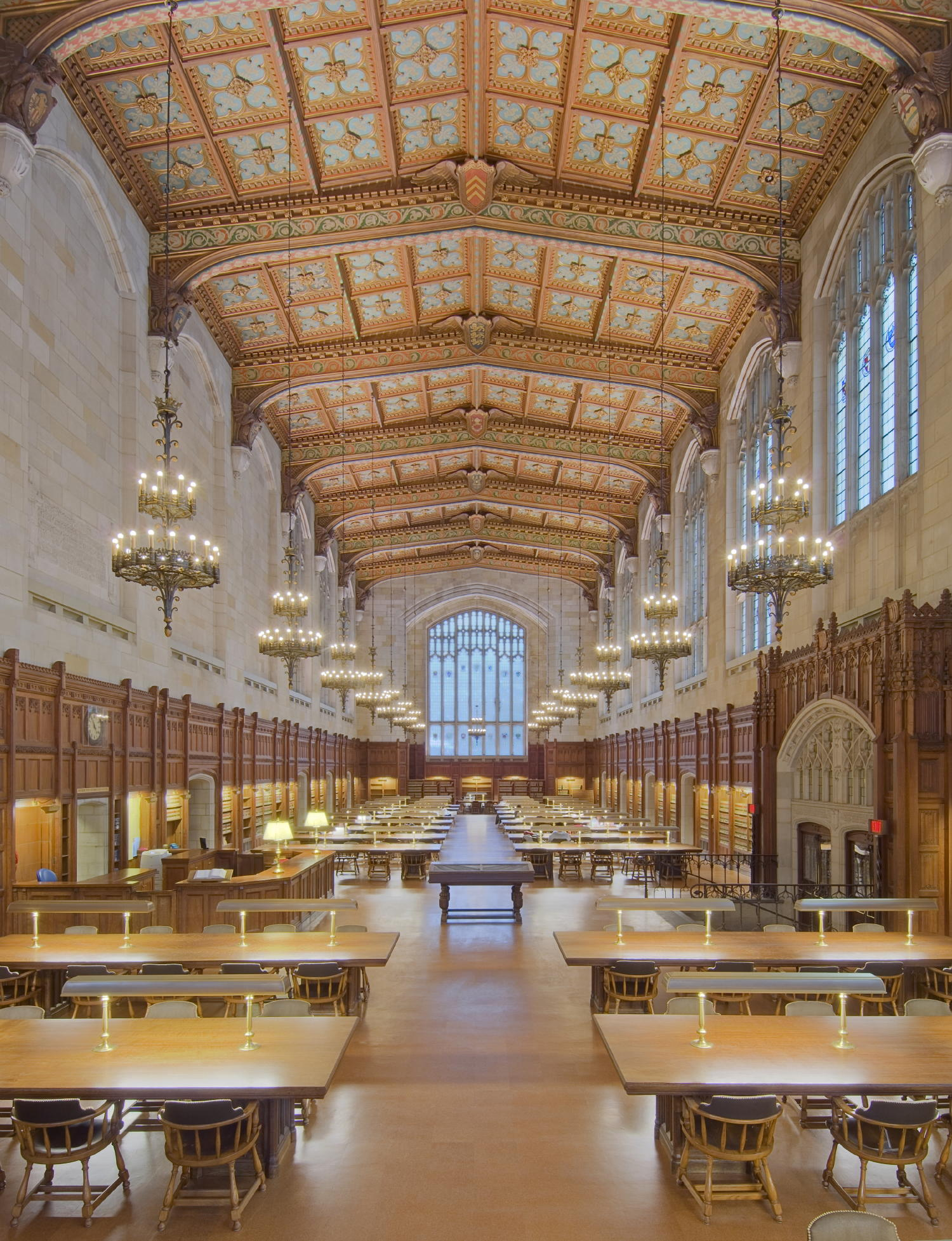 Landmark Law Library Reading Room at University of Michigan ...
