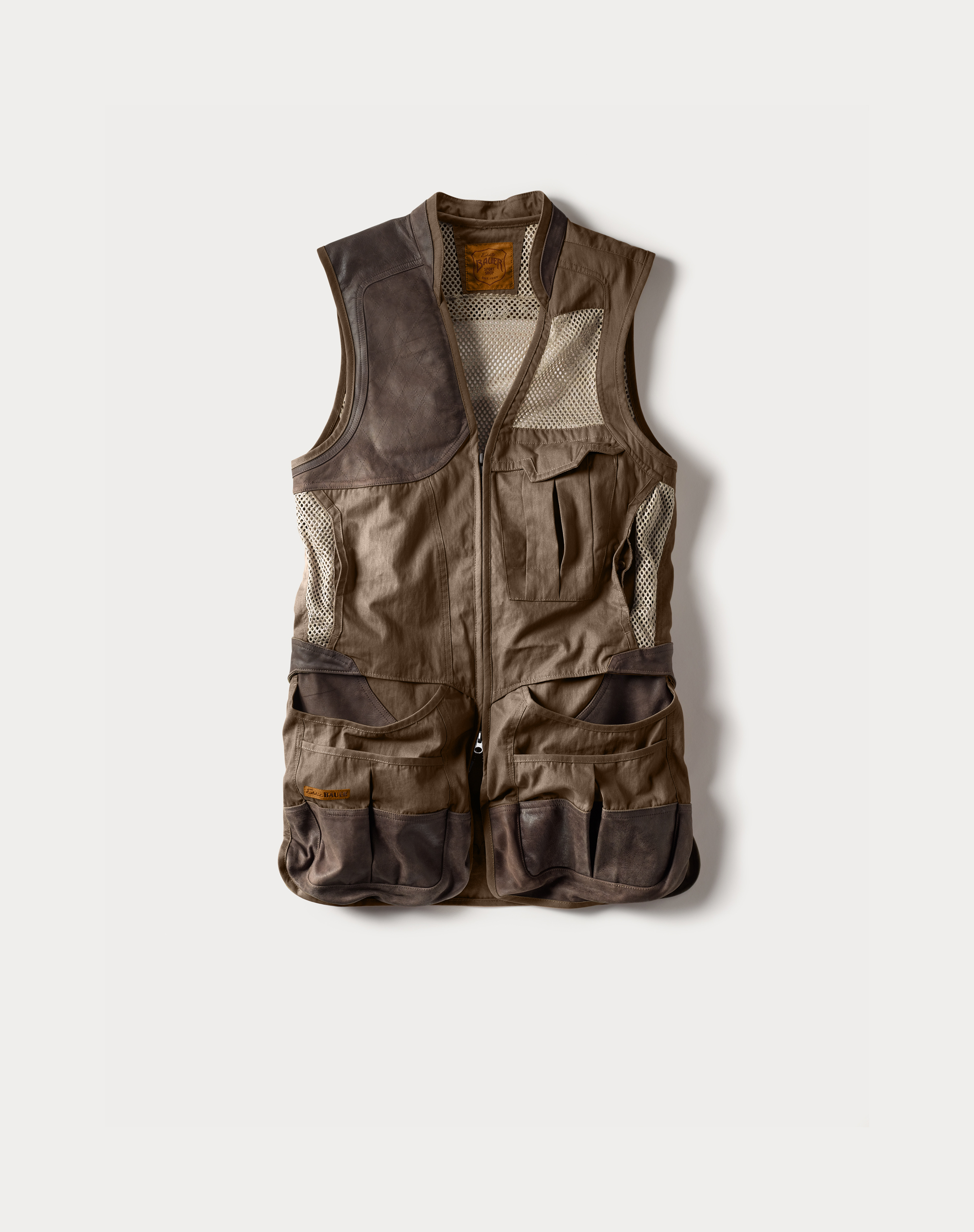 Clay Break Premium Shooting Vest - Acorn