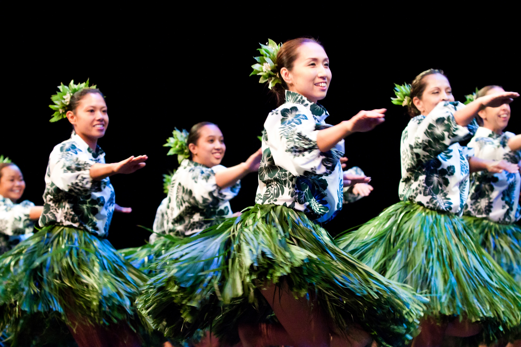 Ku Mai Ka Hula 2011 - Halau Na Pua Liko Wai Ho&#39;ola, Kumu Hula Junko Wong of Japan