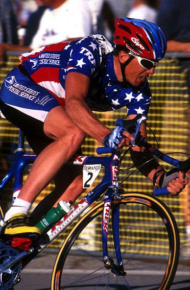 Competitive Cyclist's Marty Jemison, U.S. National Champion.