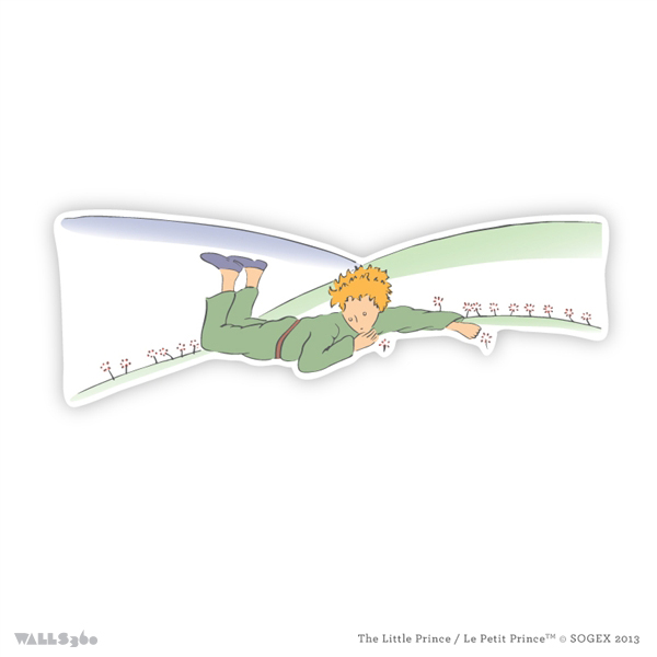 the little prince wall graphics from walls 360 on demand