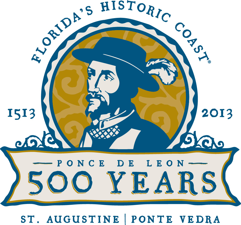 St. Augustine/Ponte Vedra Convention and Visitors Bureau_Ponce de Leon (logo)
