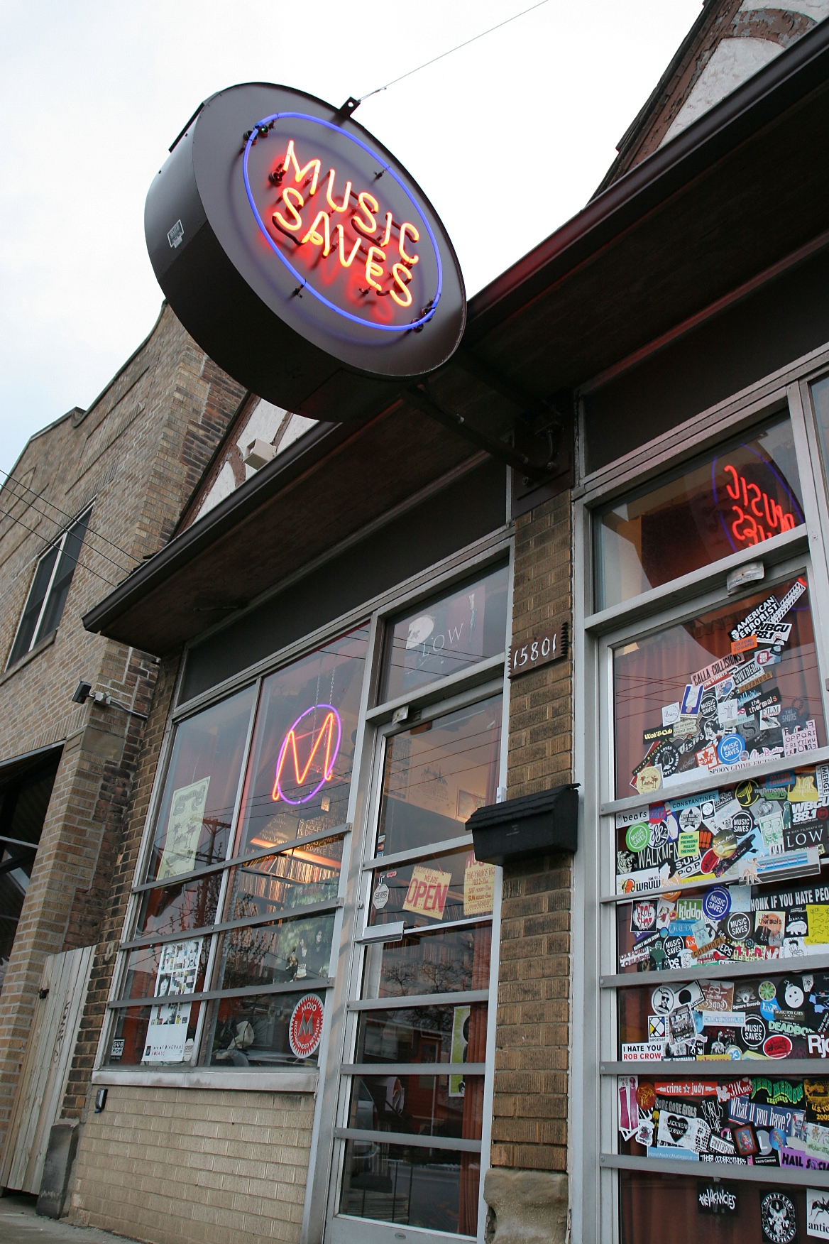 Music Saves Record Shop (c)www.positivelycleveland.com/KFCrisafi