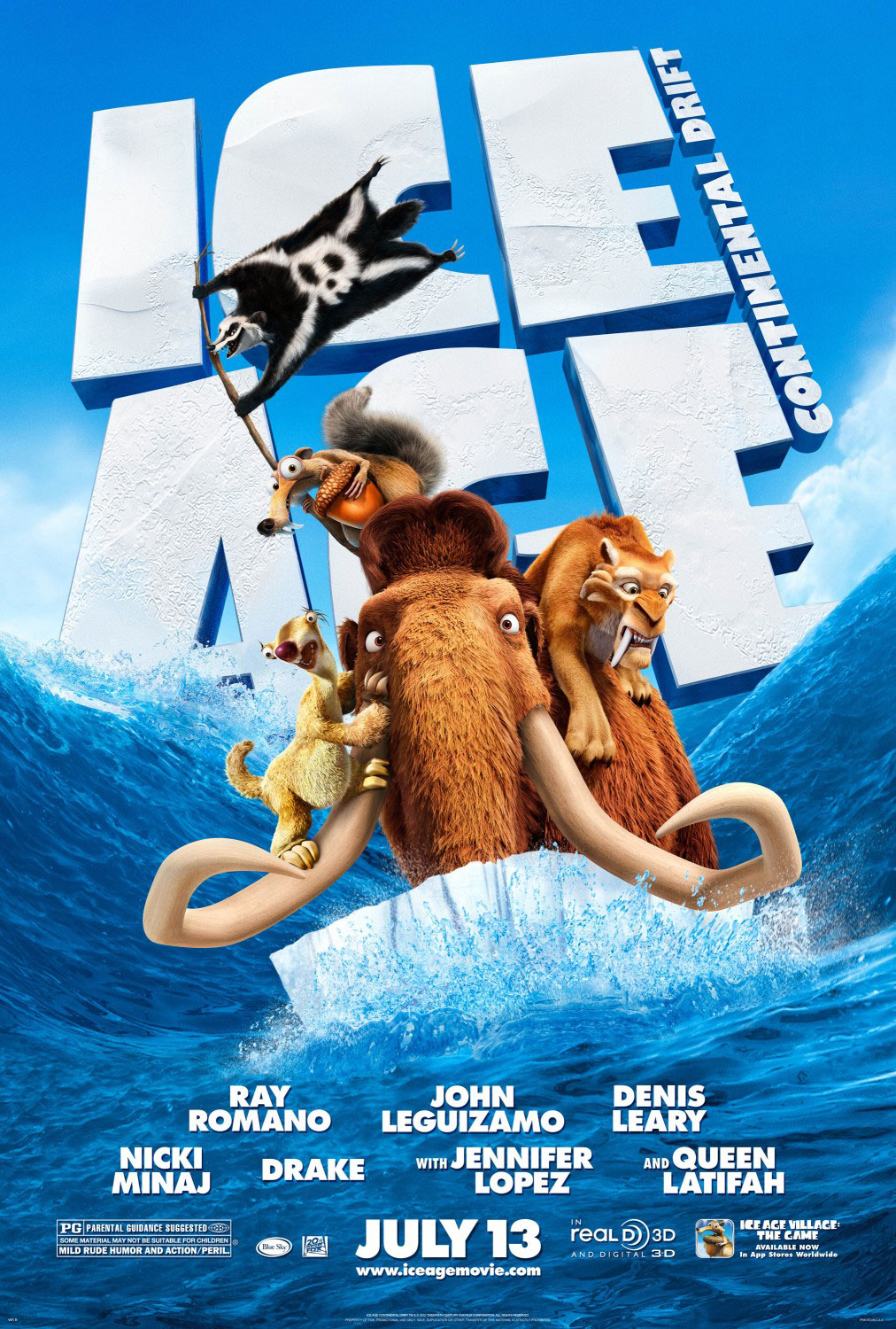 Posters of Ice Age 4