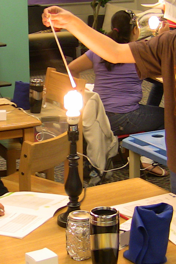 Turner USD 202 students conducted energy experiments as part of the BTU Crew curriculum.