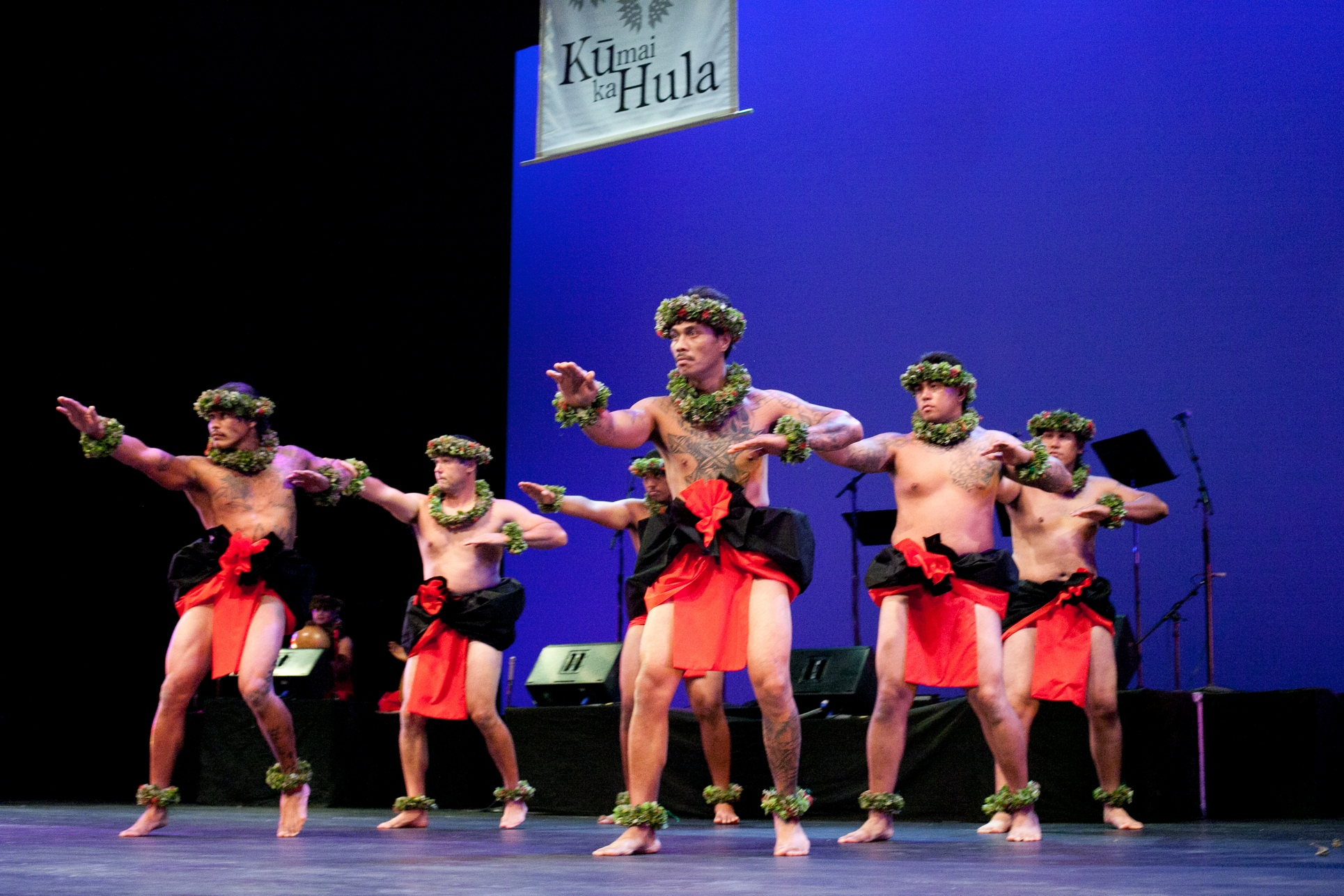 Ku Mai Ka Hula 2011 - Kane Kahiko, Halau I Kona Mau Lima, Kumu Hula Ualani Smith 