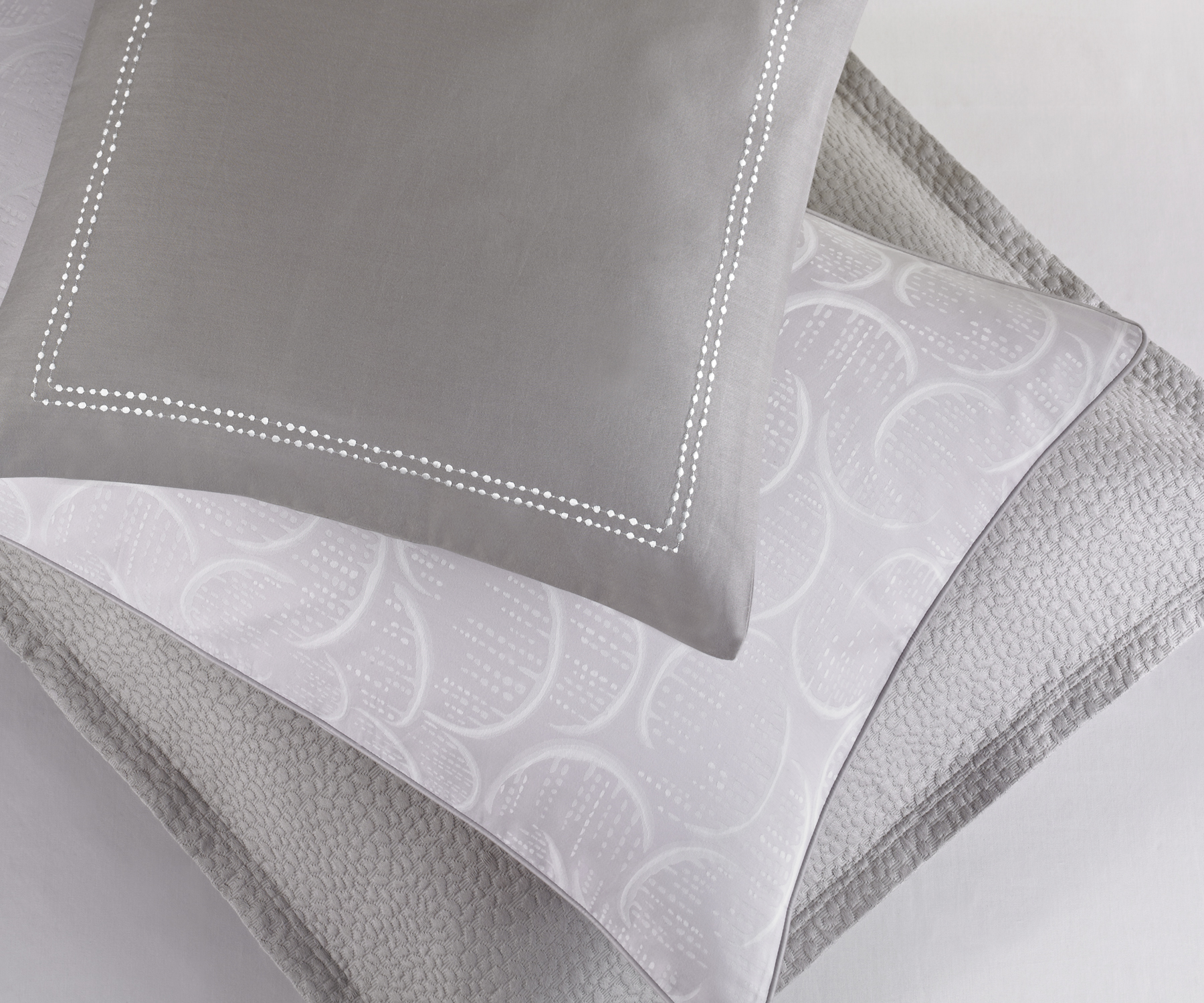 Pillows from DIVINE, the new Barbara Barry Dream collection for Spring 2012.  Photo credit:  Courtesy of Barbara Barry Inc.