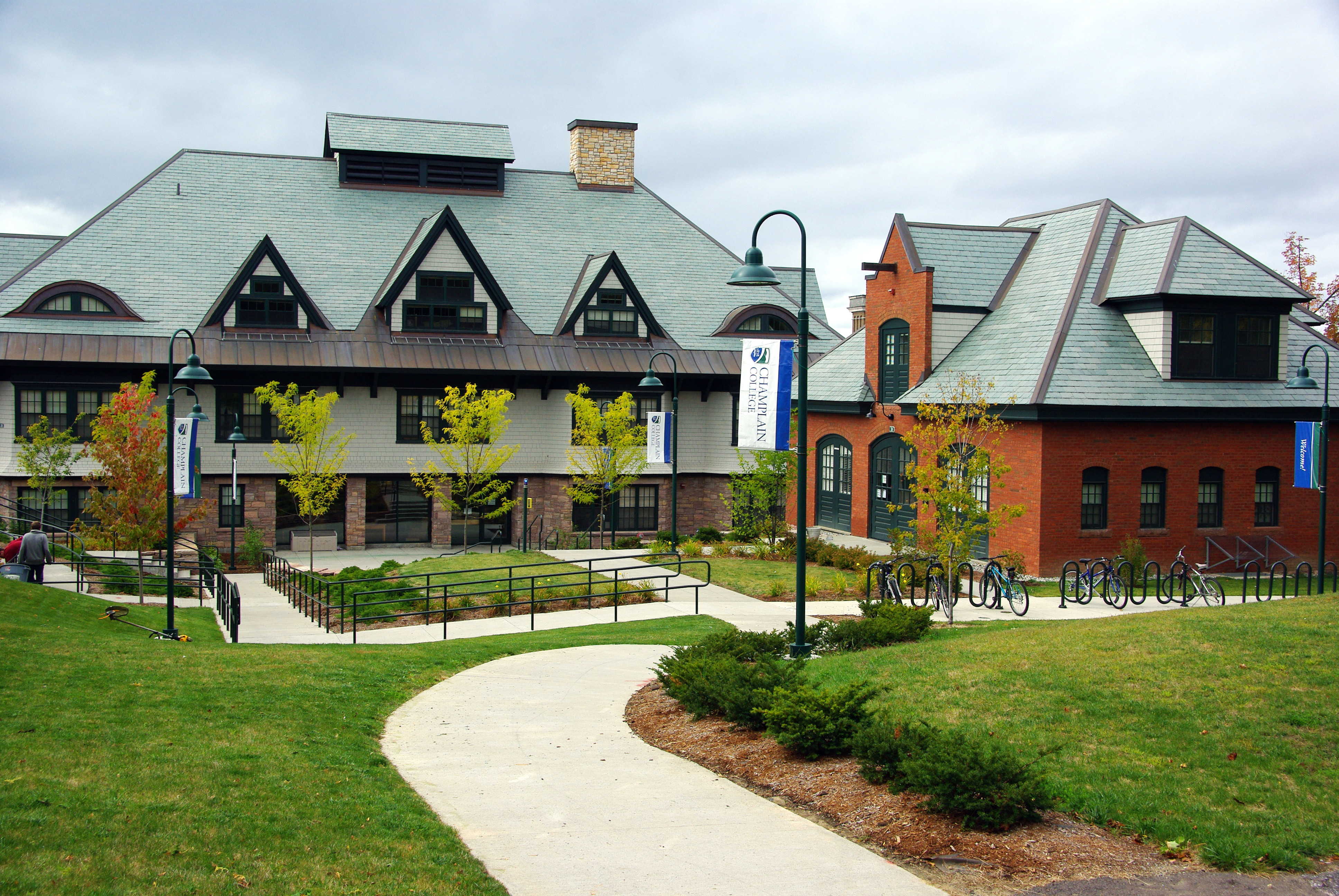 Residence halls at Champlain College became the temporary homes for various groups over the summer months.