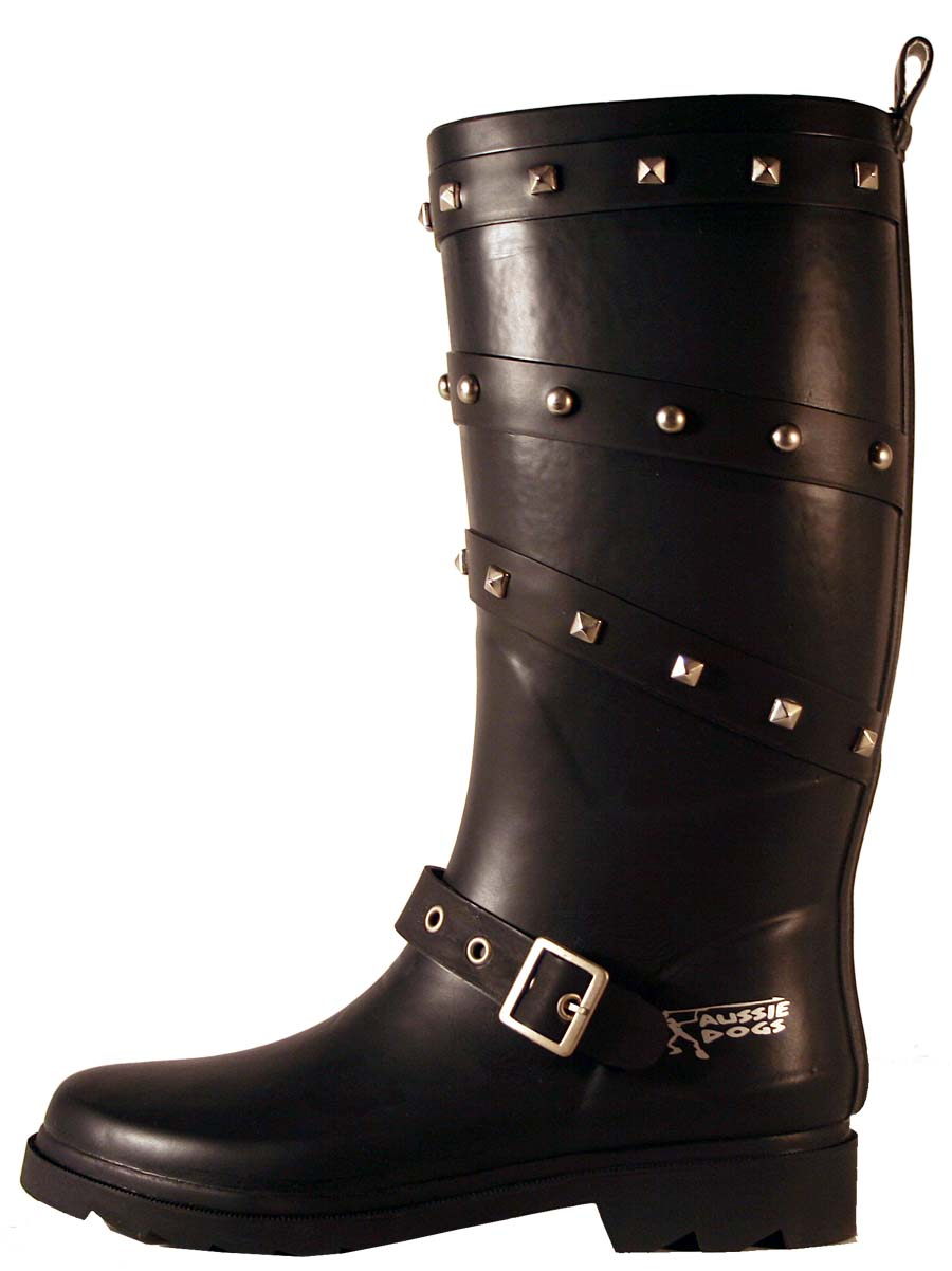 Studded with Buckle