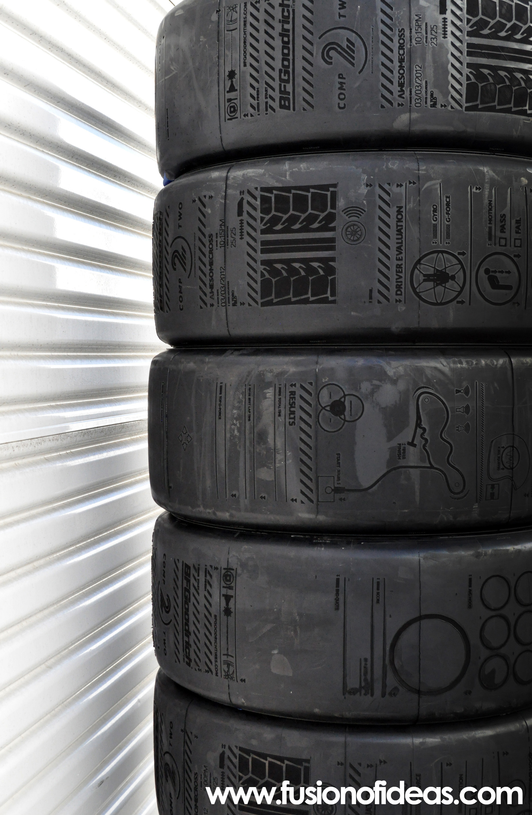 Laser Etched Tires by Fusion of Ideas