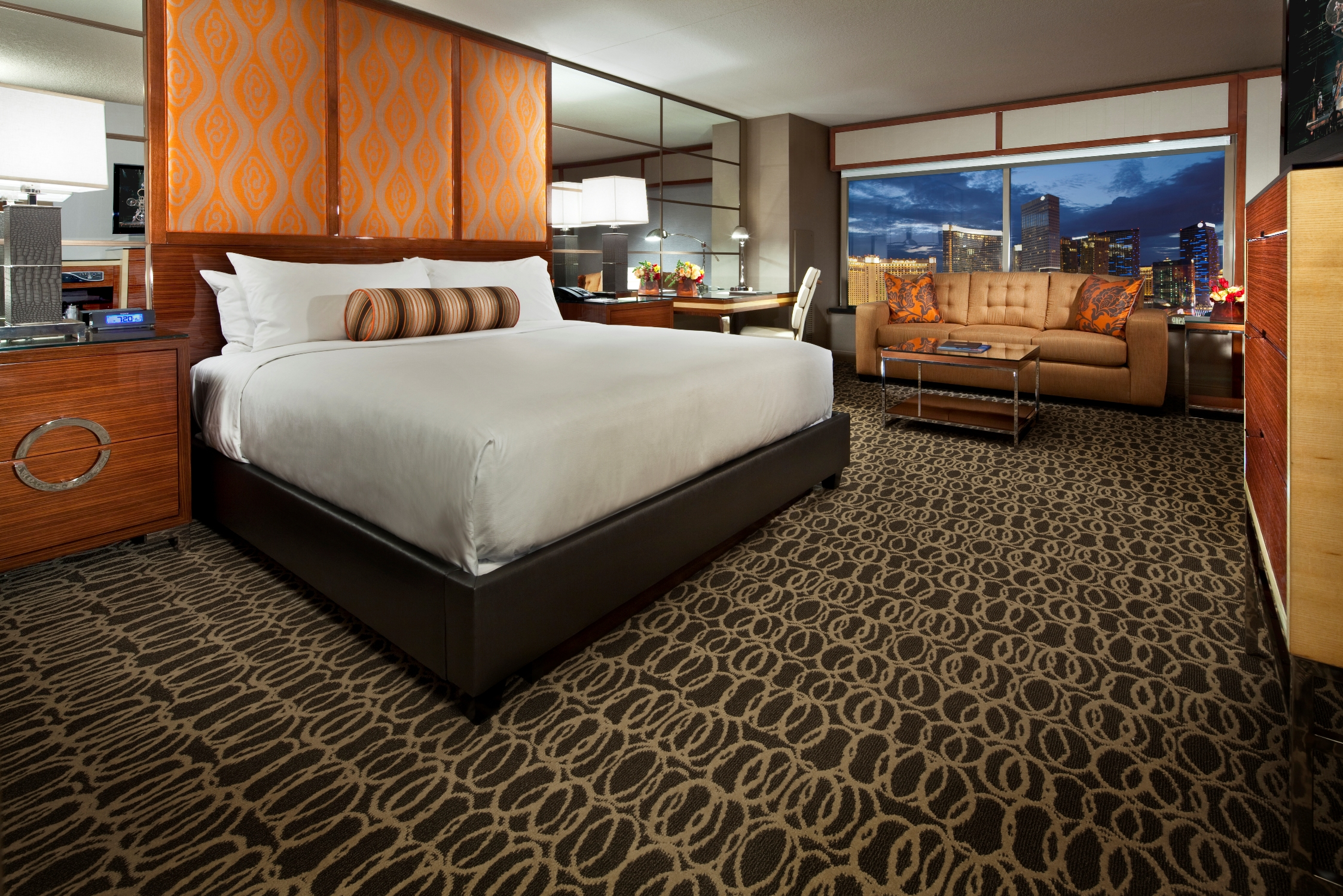 Mgm Two Bedroom Suite Mgm Grand Marks Major Milestone In Grand Renovation With