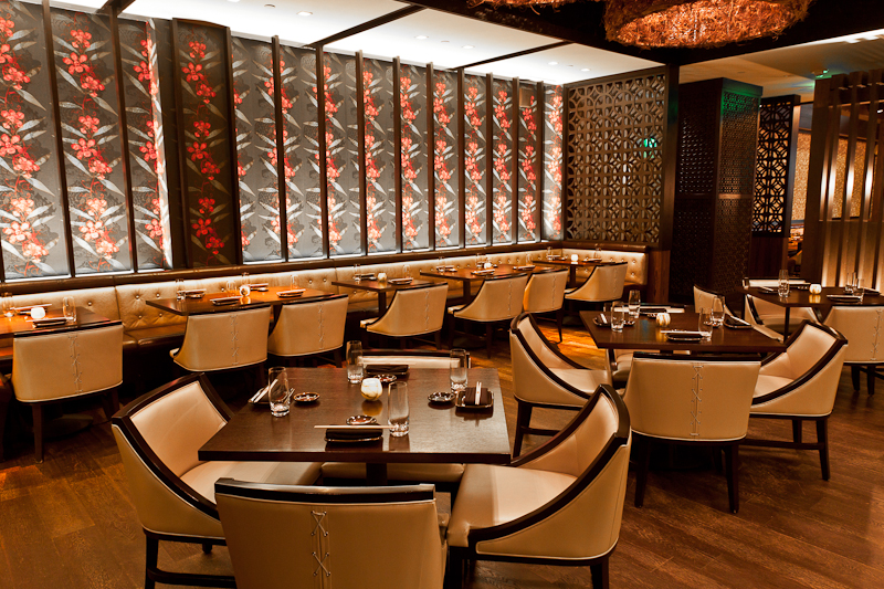 "Located inside Crystals at CityCenter, Social House is an innovative Pan-Asian restaurant complete with unrivaled décor, exuberant vibe, delightful cuisine and an impeccable sake program. (Part of Crystals' ""Modern Man"" Package)"