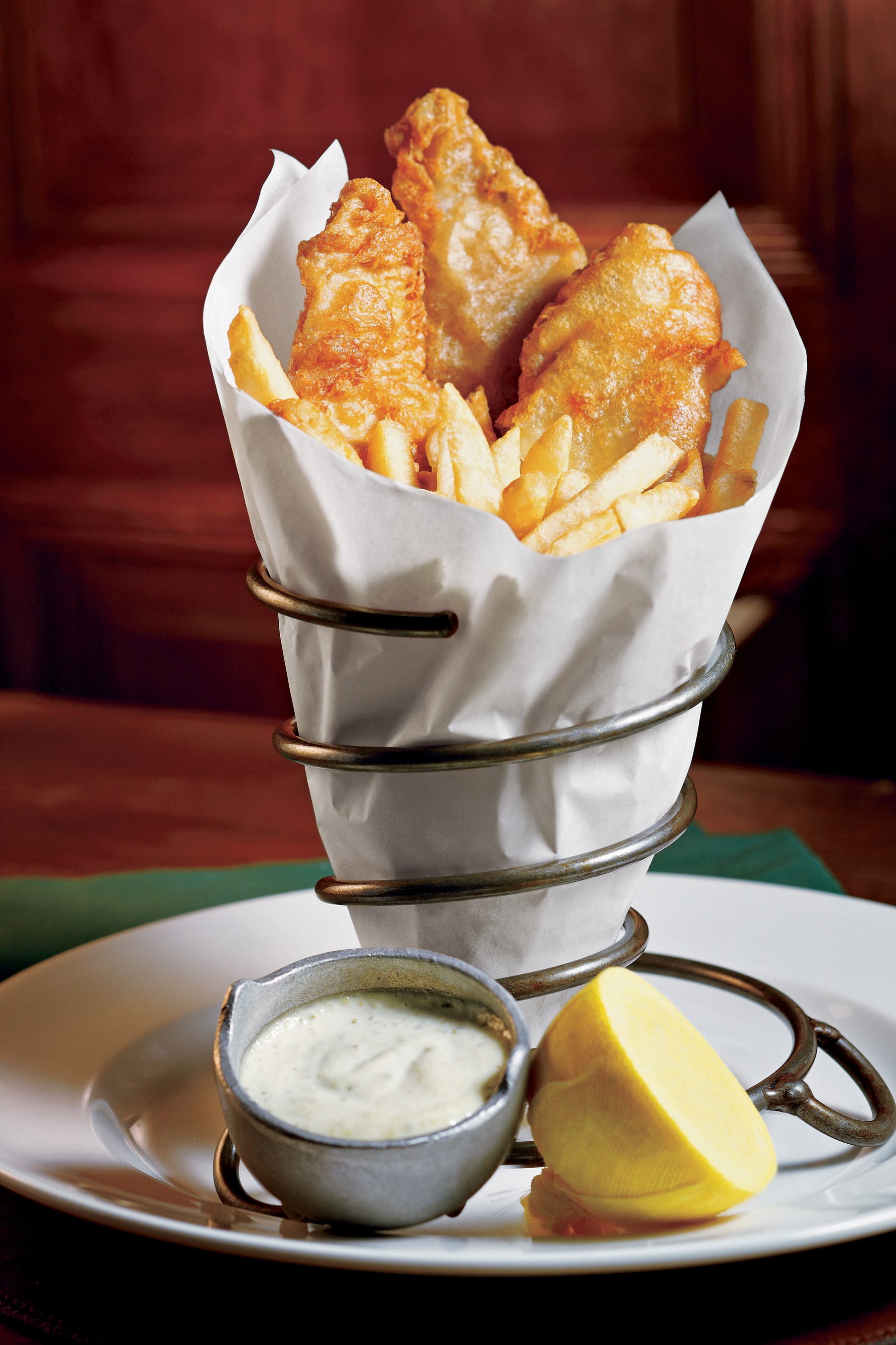 Classic Irish Fare - Fish & Chips at Nine Fine Irishmen at New York-New York Hotel & Casino