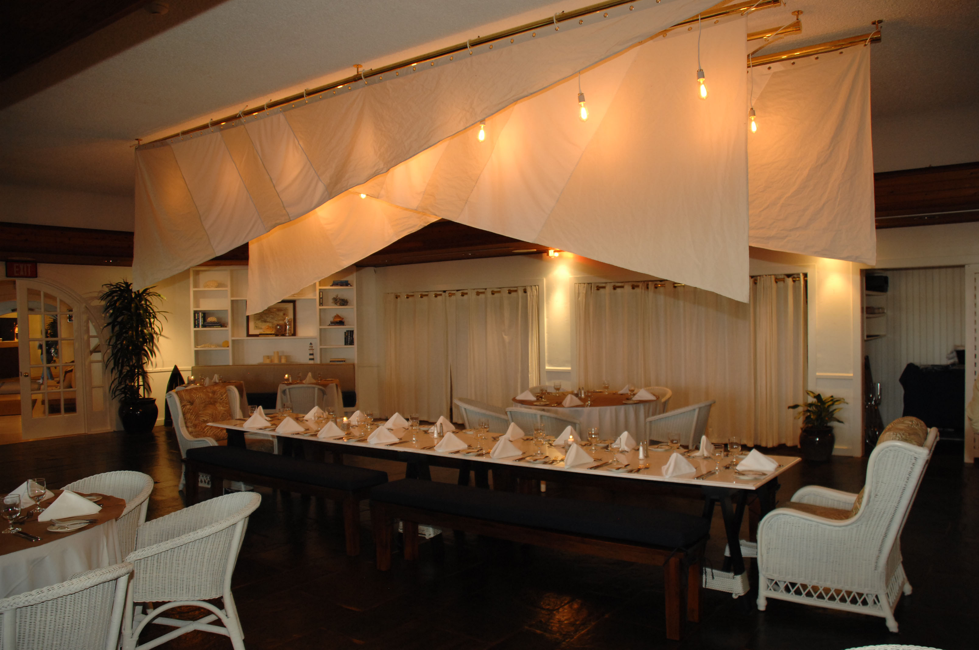 The Gulf Coast Kitchen by Gabriele Corcos @ Montauk Yacht Club