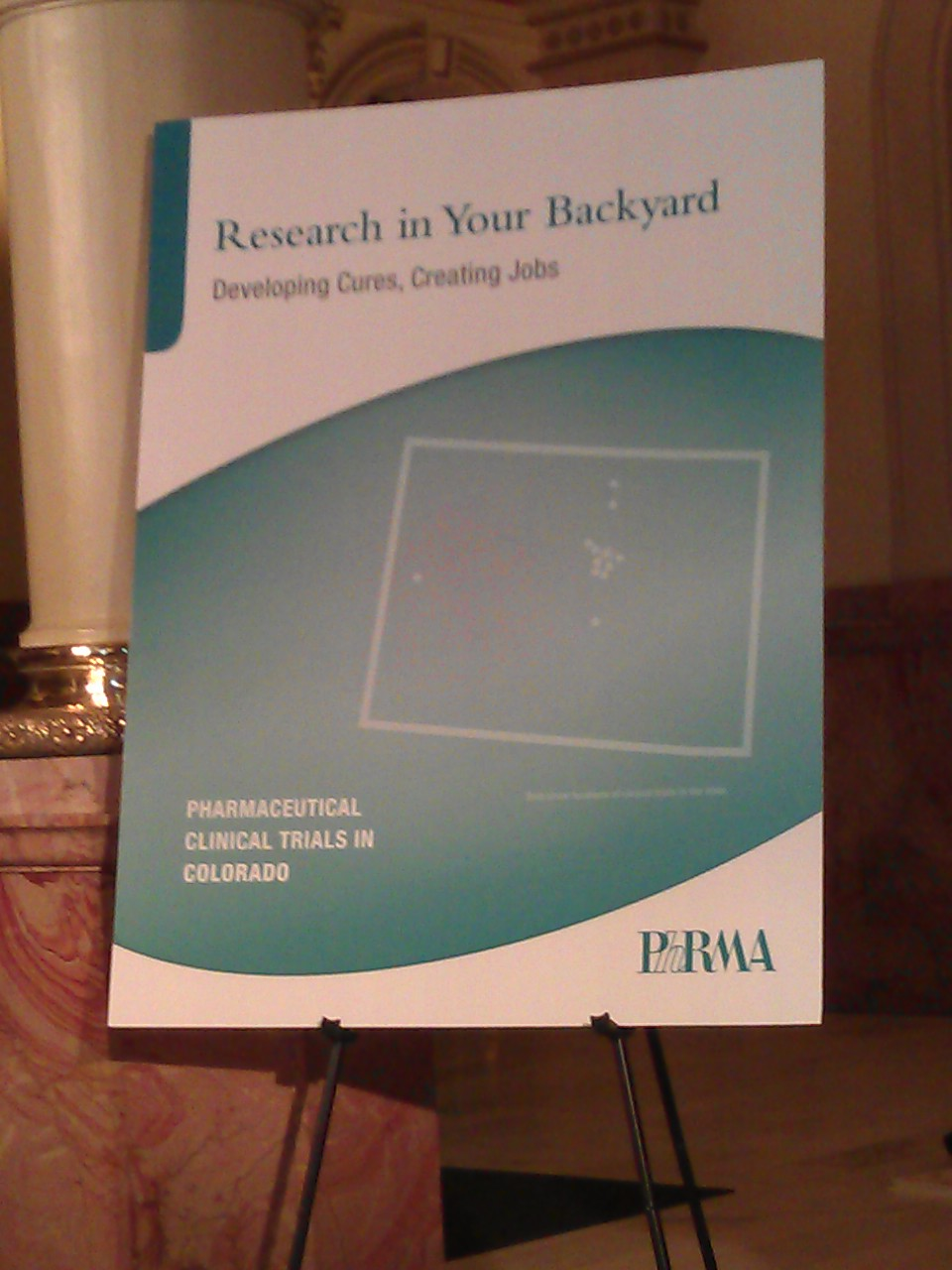 "PhRMA's new report: ""Research in Your Backyard"""