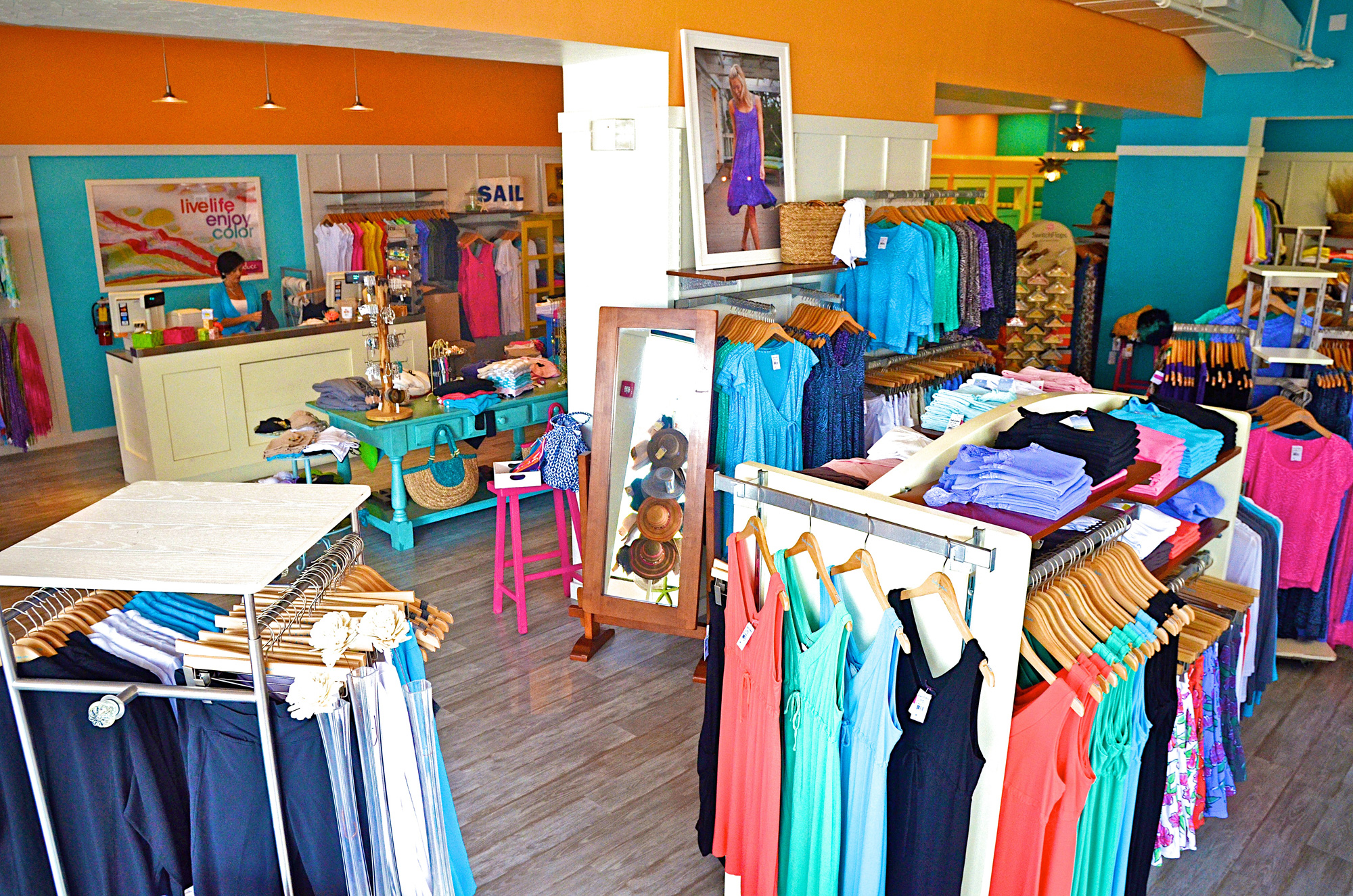 Fresh Produce Clothes recently moved their Tucson, Arizona store to a