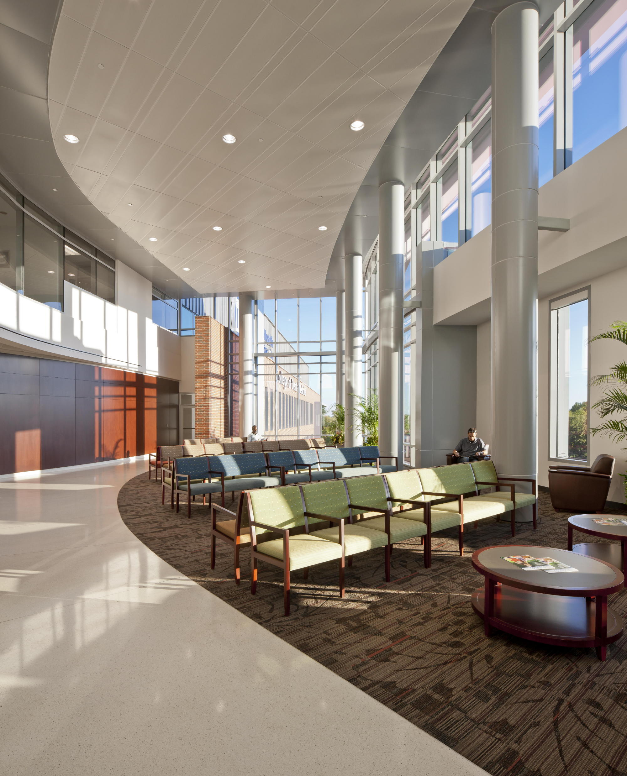 The CDM's generous glazing brings natural light to nearly every area of the building. c Jonathan Hillyer / Atlanta