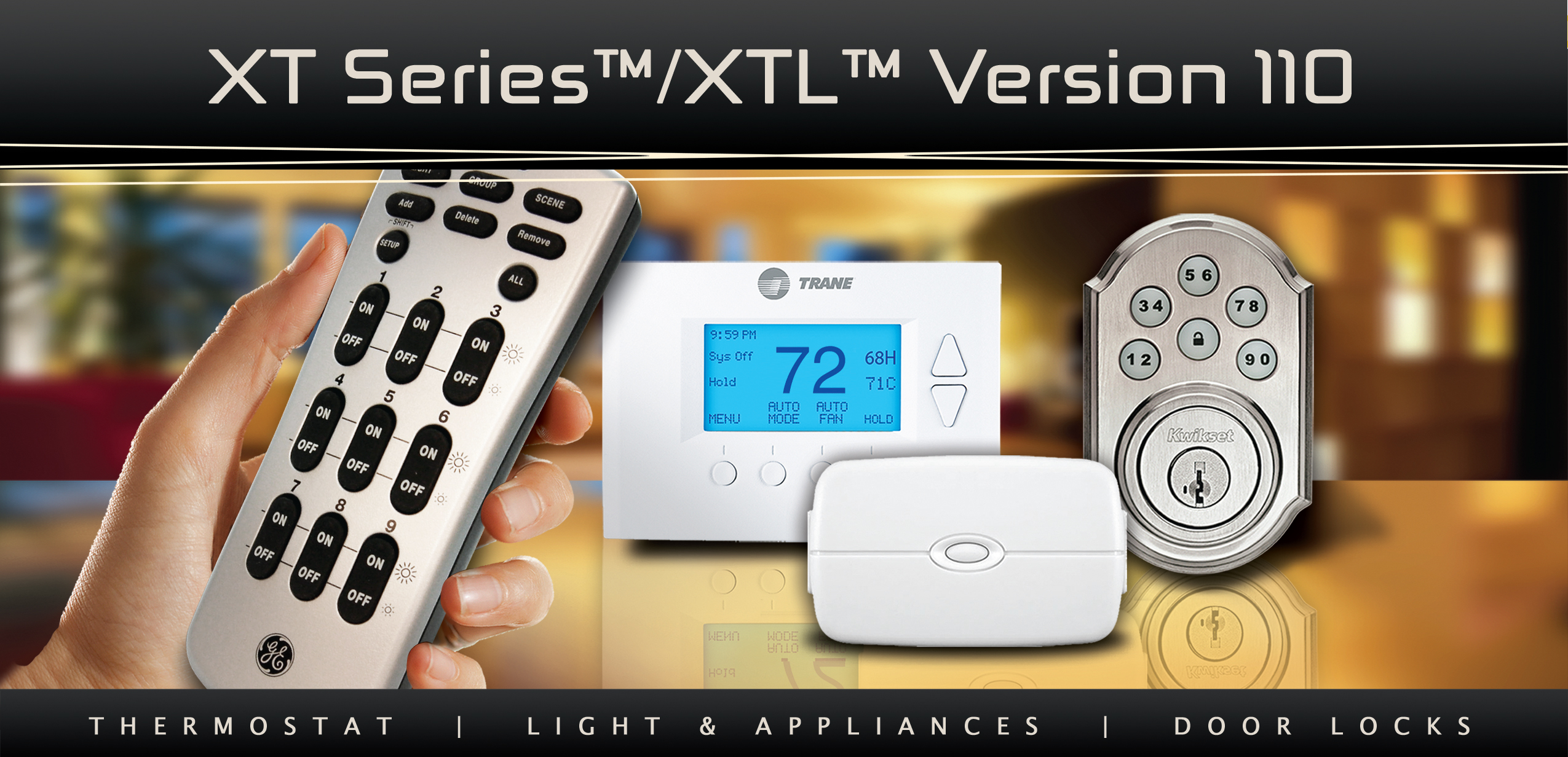 DMP XT and XTL Version 110