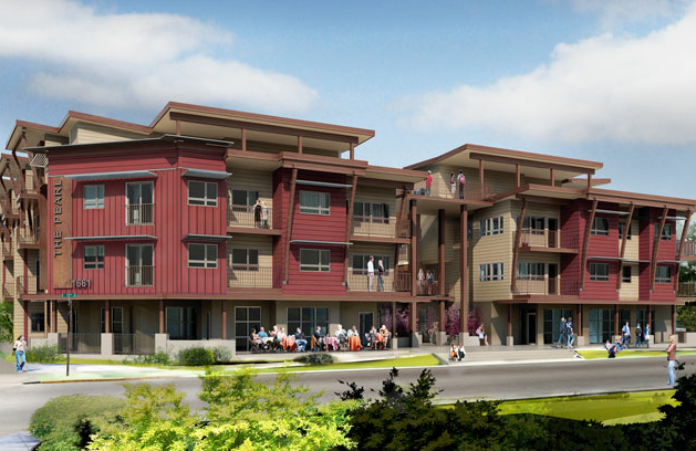The Pearl, constructed by Essex General Construction is managed by von Klein Property Management in Eugene, Oregon.