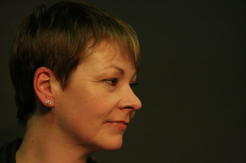Leader of the Green Party, Caroline Lucas: thinks the handling of the solar power tariff reductions has been `shambolic'. Picture by underclassrising.net
