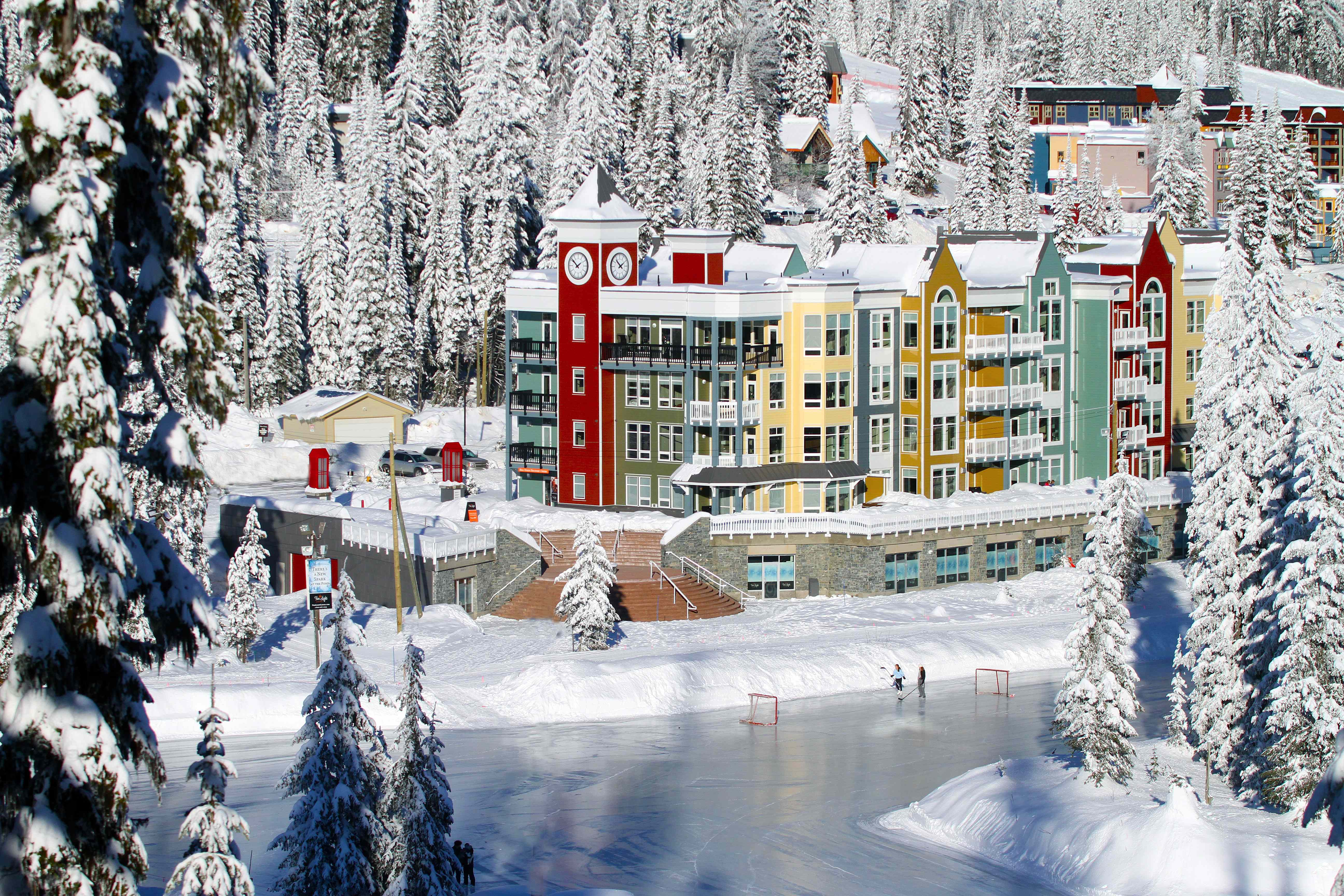 Canada ski resort with casino showboat casino adress