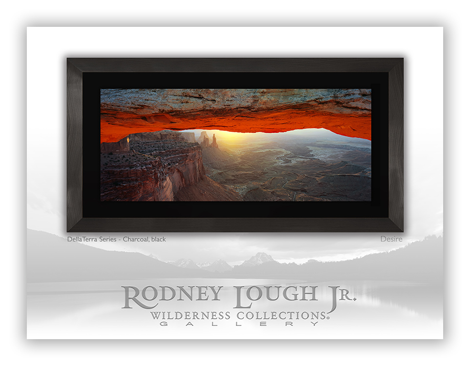 "With his gallery located in the heart of CityCenter, Rodney Lough, Jr. offers men traveling the fast lane of Vegas the chance to step into the wilderness with his award-winning photographs. Invite your guy to experience a visually stunning spectacle by giving him one of Rodney's most unique pieces - ""Desire"" - from his Della Terra Series (Part of the Crystals' ""Modern Man"" Package)"