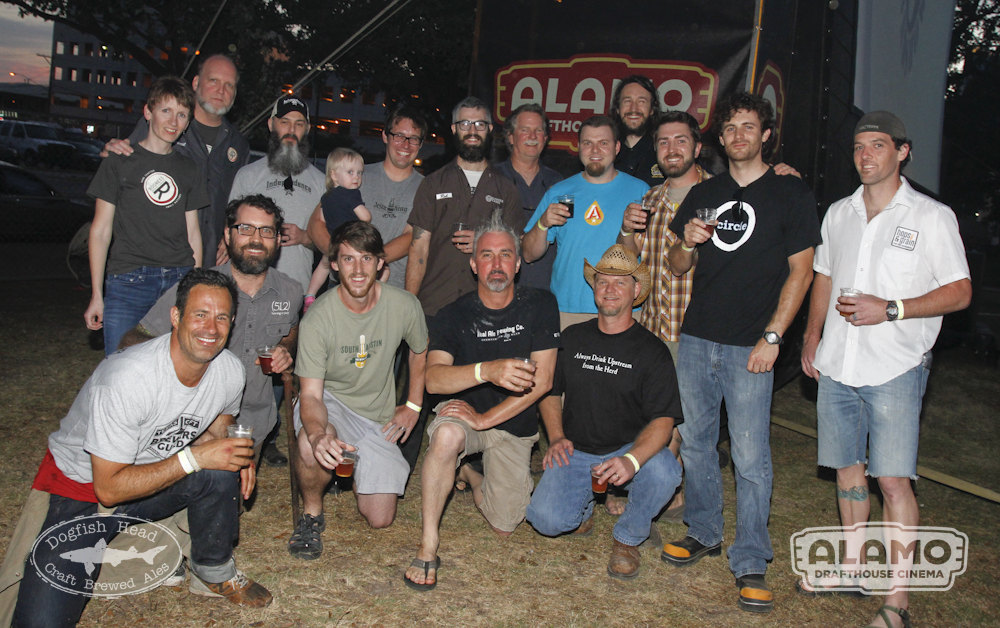 The Off-Centered Film Fest raised $1,000 for the Texas Craft Brewers Guild.
