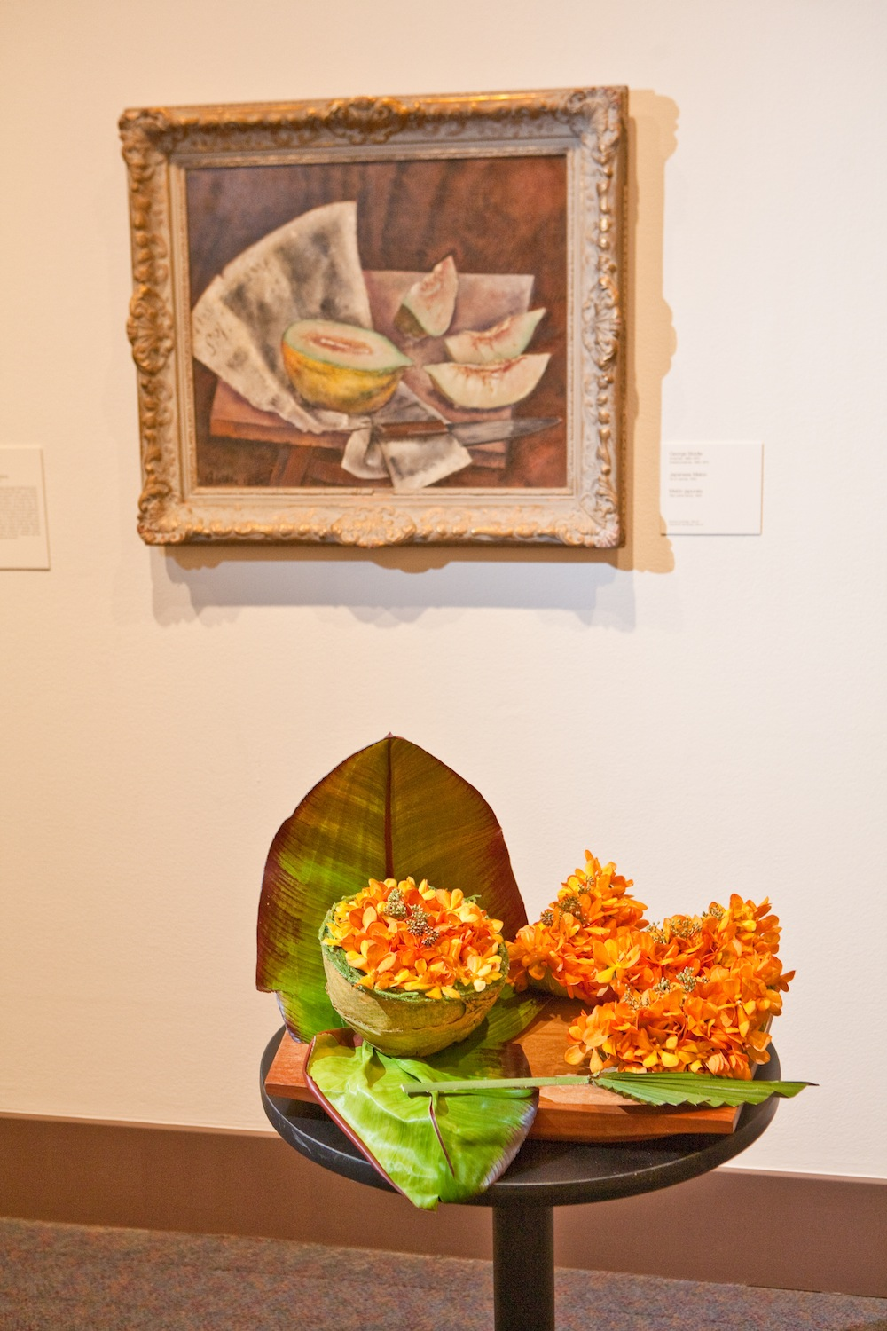 Floral interpretations of works of art from the Museum's permanent collection. 