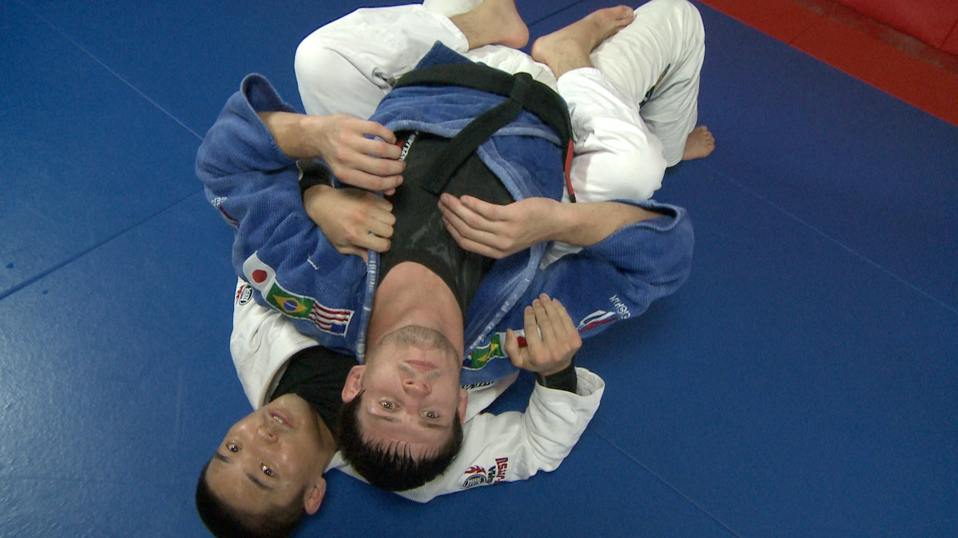 ATAC TV MMA Lapel Choke from the Rear