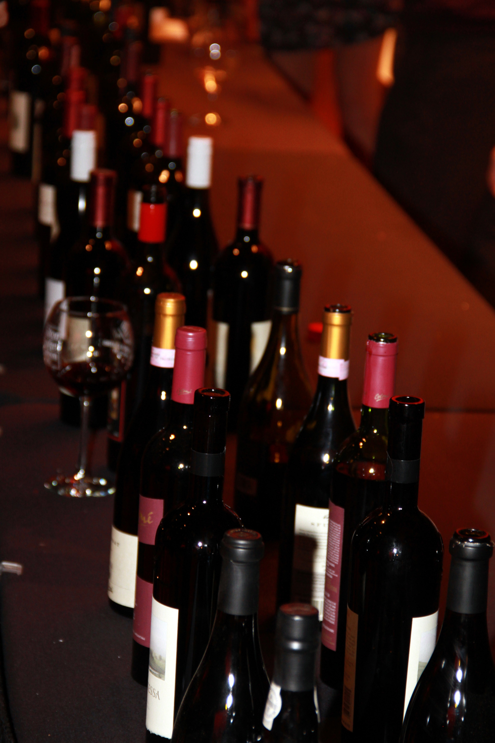A wide variety of wines to try at Vintage in the Valley. (2011)