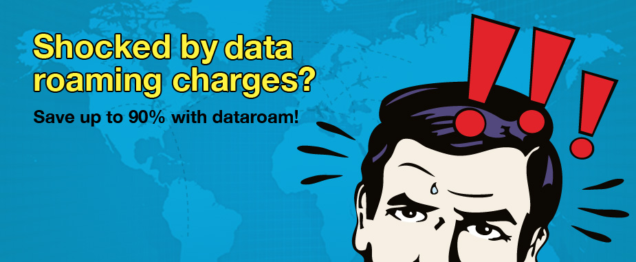 Avoid mobile data roaming charges with www.dataroam.co.uk