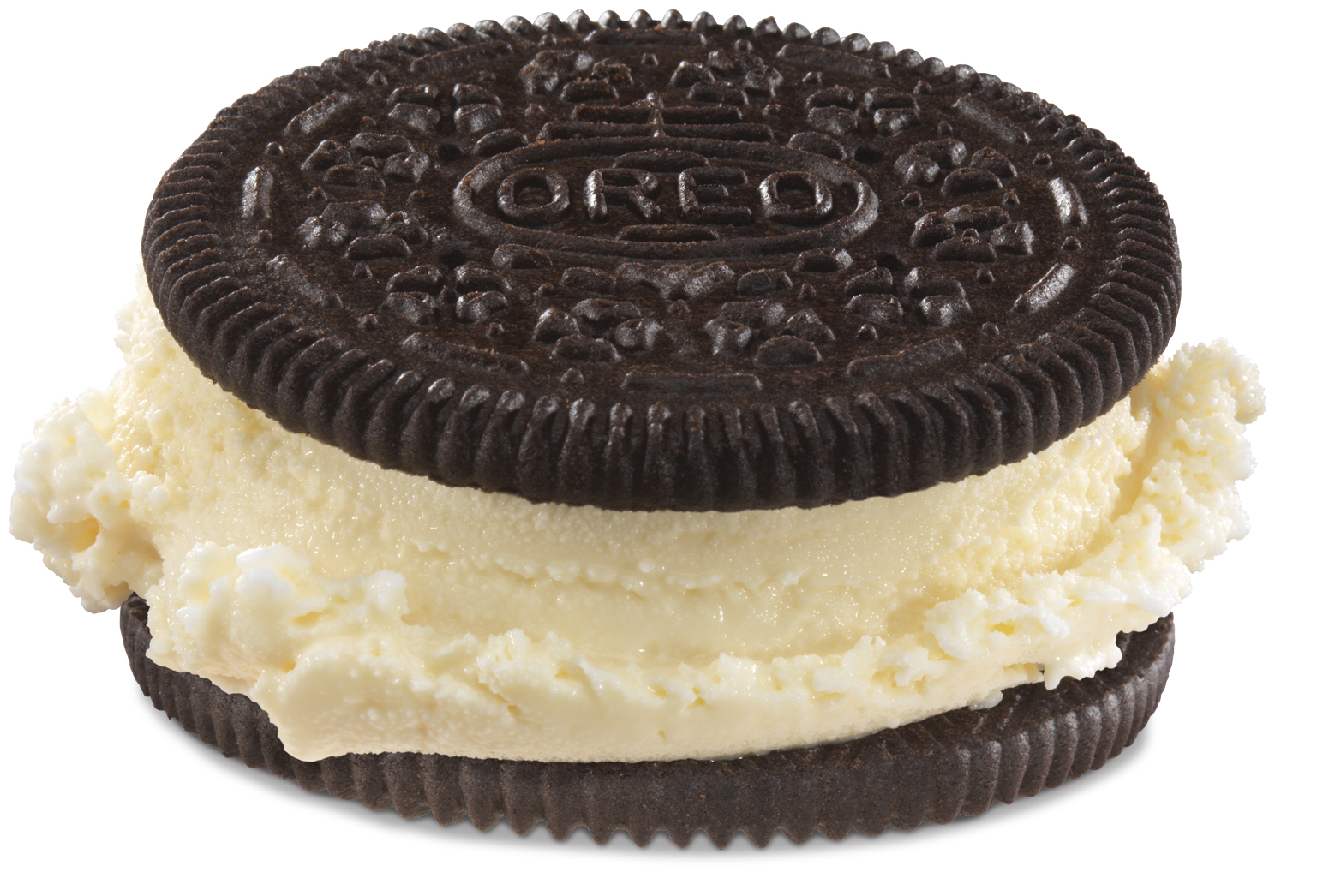The new Hand-Scooped Ice Cream Sandwich is now available at Carl's Jr.