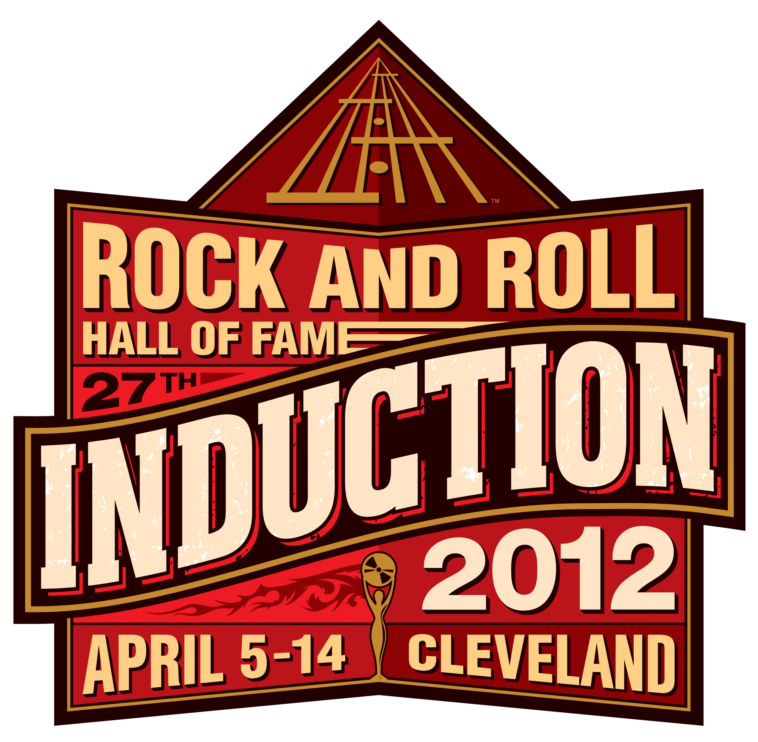 Rock and Roll Hall of Fame Induction Ceremony in Cleveland 2012